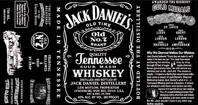 Free Jack Daniels Label Template Elegant Jack Daniel S Switches Up Classic Label