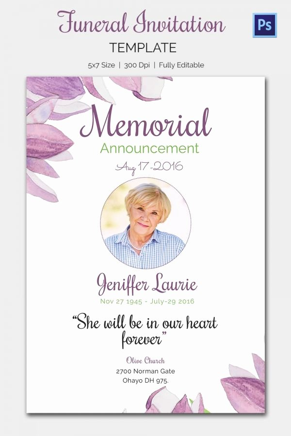 Free Memorial Card Template Best Of Pin by Wendy On Dorothy