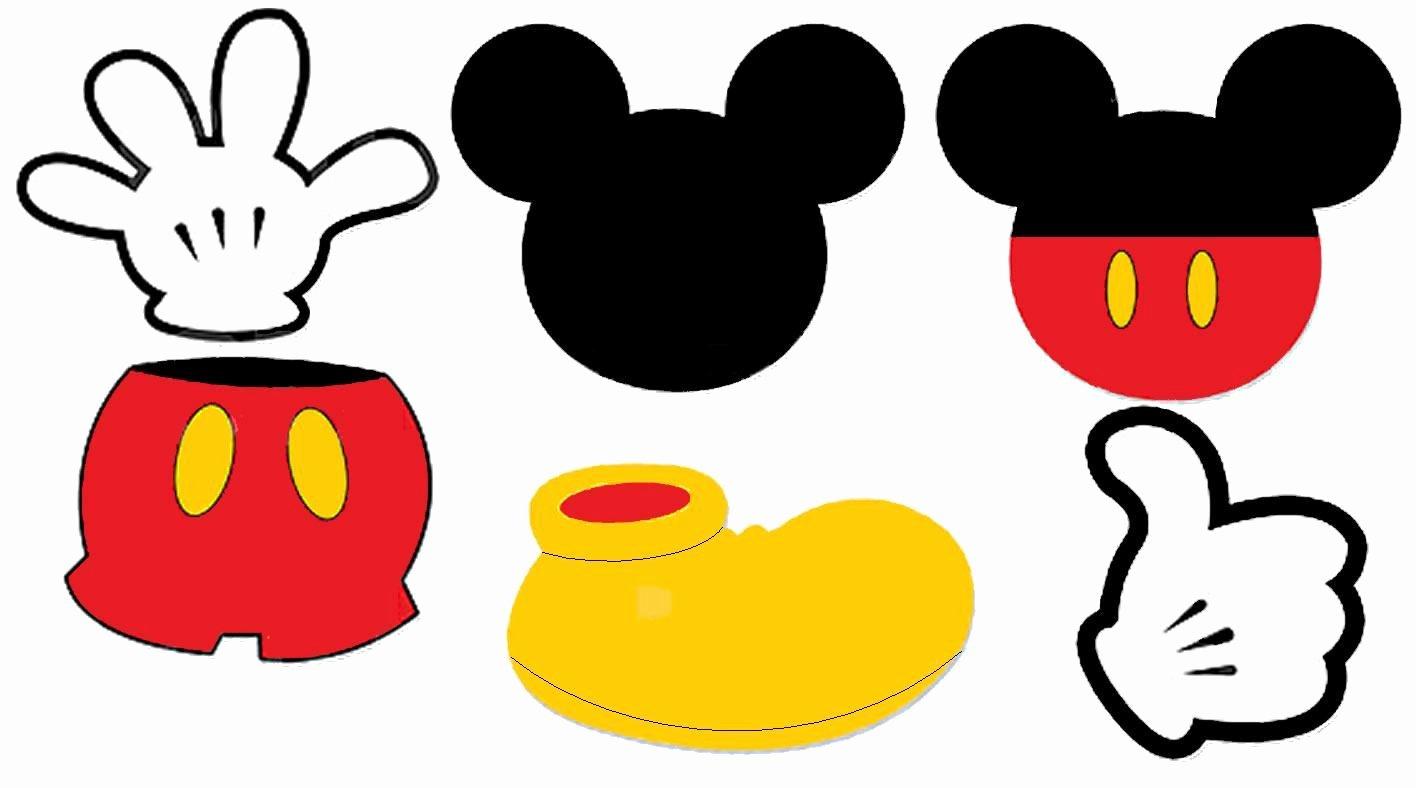 centros mesa tema mickey mouse