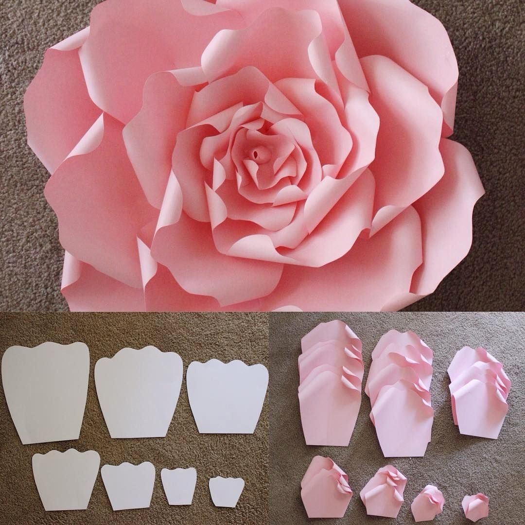 Free Paper Flower Patterns Awesome Here are the Templates that are Used to Make A Beautiful