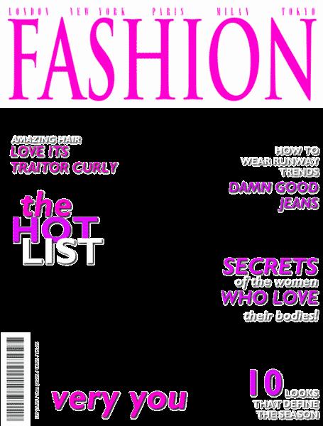 post blank magazine cover design
