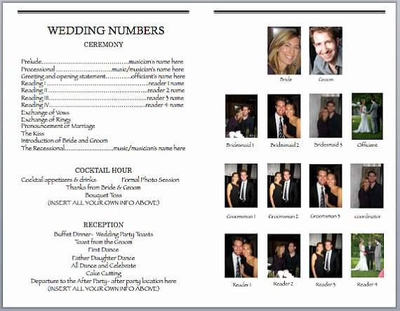 Free Playbill Template New Playbill Template Word Pdf Shop Free Download