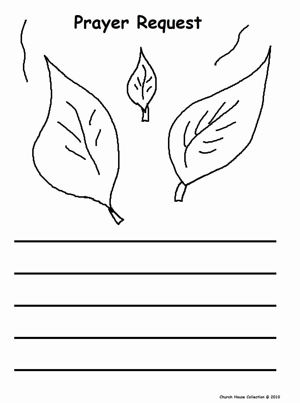 Free Prayer Card Template for Word Inspirational Fall Prayer Sunday School Lesson
