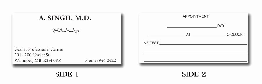 Free Printable Appointment Reminder Cards New Doctor S Appointment Cards Bing Images