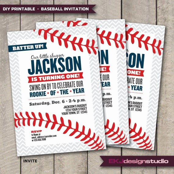 diy printable baseball rookie of the