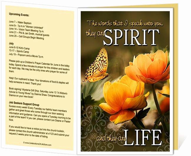 image relating to Free Printable Church Bulletin Templates named No cost Printable Church Bulletin Handles Peterainsworth