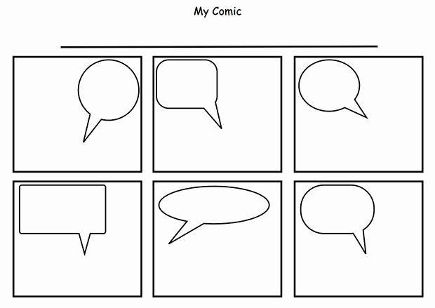 Free Printable Comic Strip Template Awesome 1000 Images About Printables On Pinterest