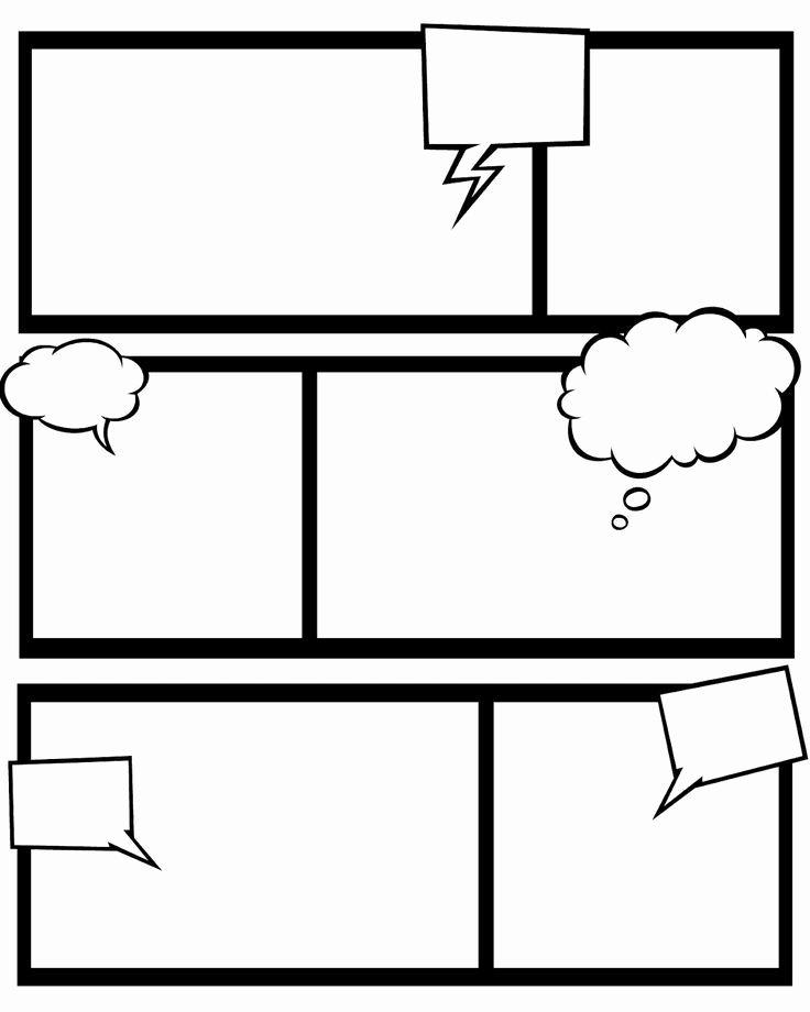 Free Printable Comic Strip Template Beautiful Free Printable Superhero Ic Book Templates and This