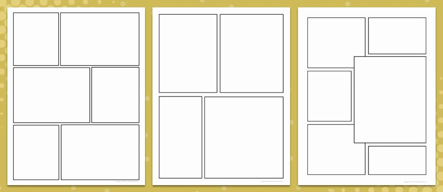 Free Printable Comic Strip Template Unique Ic Worksheet Template Rcnschool