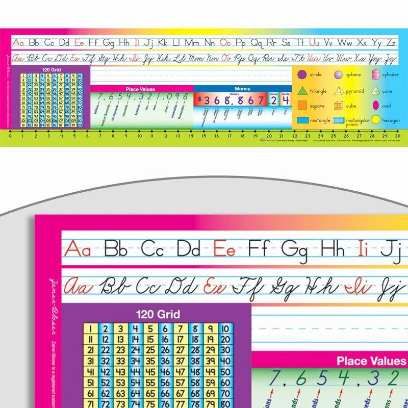 Free Printable Desk Name Plates for Students Elegant Print Cursive Zaner Bloser Deluxe Plastic Desktop Helpers