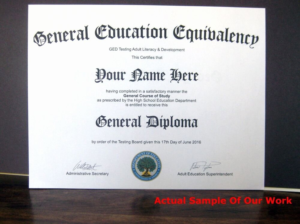 Free Printable Ged Certificate Inspirational Fake Diploma High School Ged