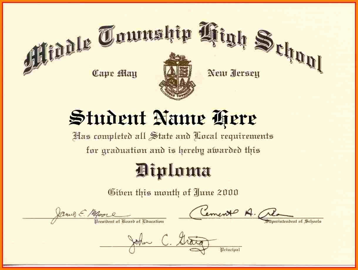 Free Printable Ged Certificate Inspirational High School Diploma Template Word Free Download