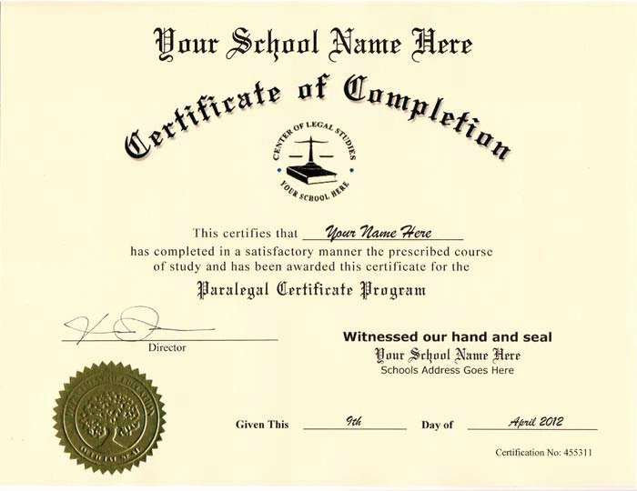 Free Printable Ged Certificate Lovely Fake Skill Certificates