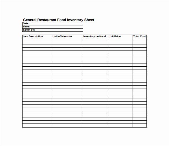 Free Printable Inventory Sheets Pdf Lovely 14 Sample Inventory Spreadsheet Templates Pdf Doc