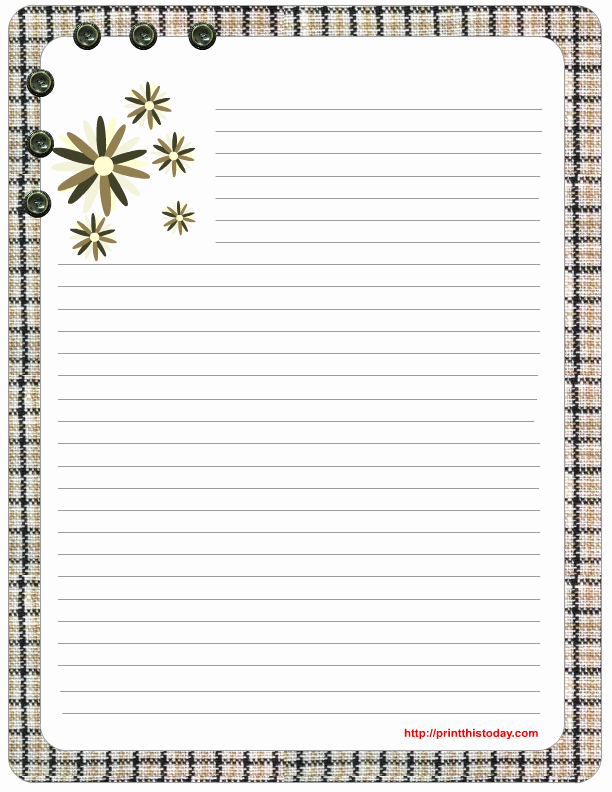 Free Printable Lined Stationary New Free Mother S Day Stationery Printables
