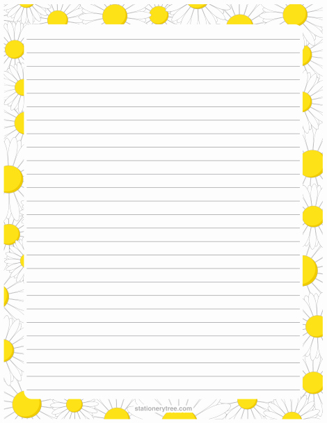 Free Printable Lined Stationary Unique Pin by Muse Printables On Stationery at Stationerytree