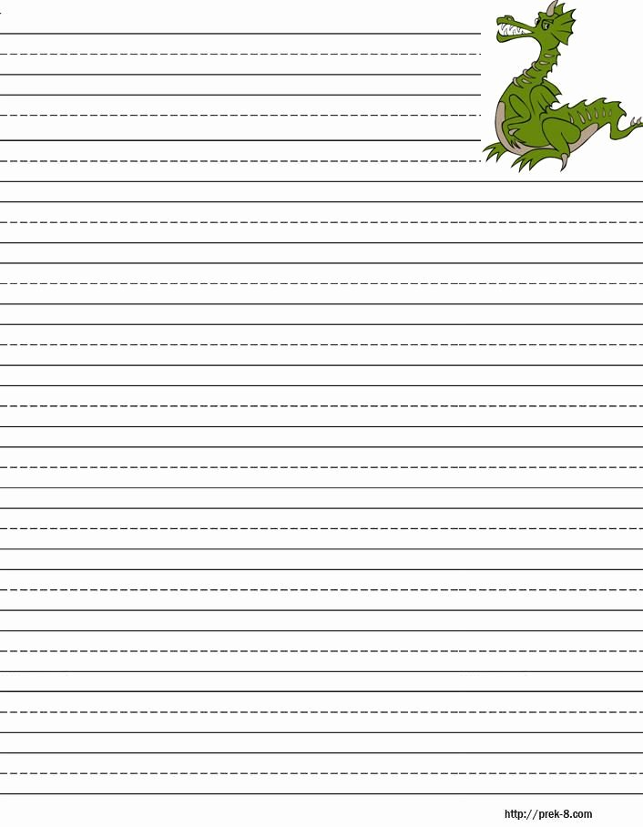 Free Printable Lined Stationery Beautiful Handwriting Paper to Print