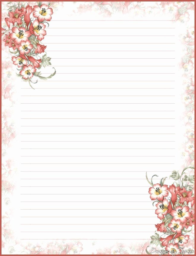 Free Printable Lined Stationery Luxury Best 25 Free Printable Stationery Ideas On Pinterest