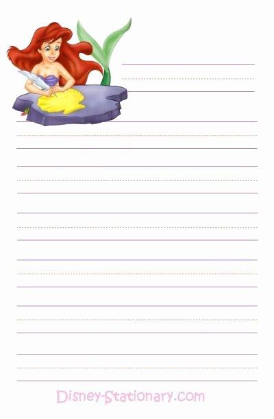 Free Printable Stationery Pdf Inspirational Free Printable Disney Stationary Writing Paper
