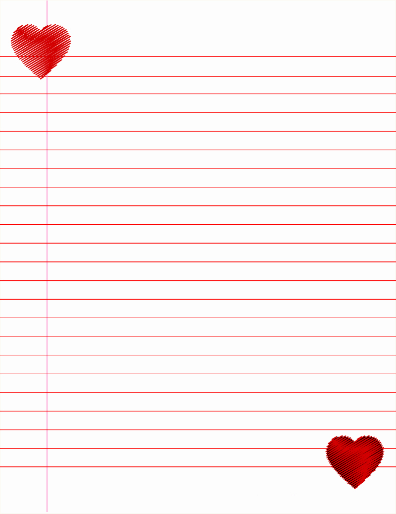 Free Printable Stationery Pdf Luxury 14 Lined Paper Templates Excel Pdf formats
