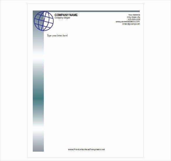 Free Printable Stationery Pdf Luxury Free Letterhead Template 22 Free Word Pdf format