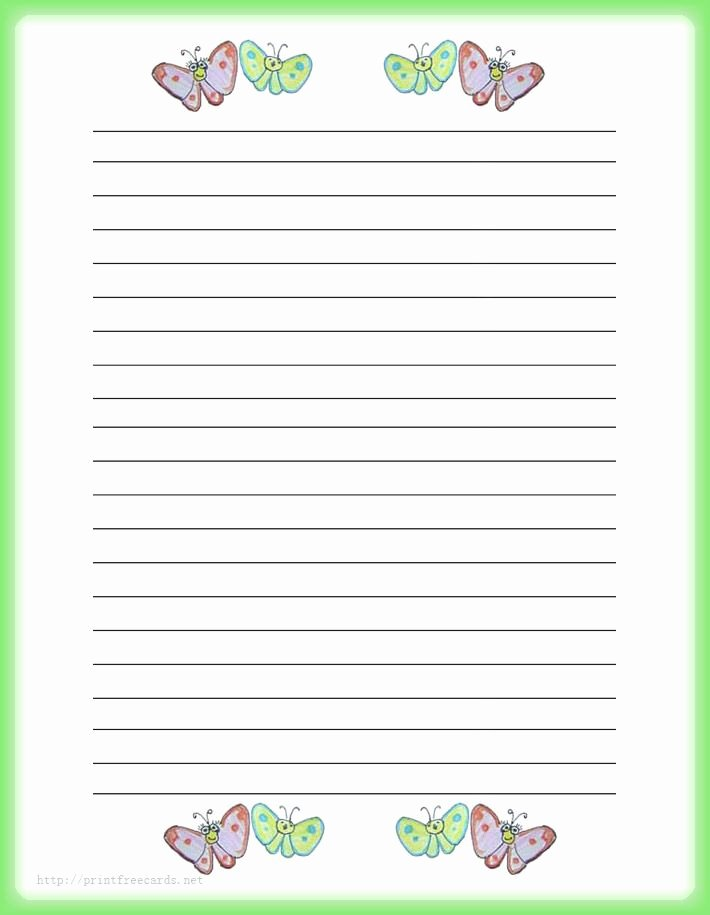 Free Printable Stationery Pdf New Stationery Paper