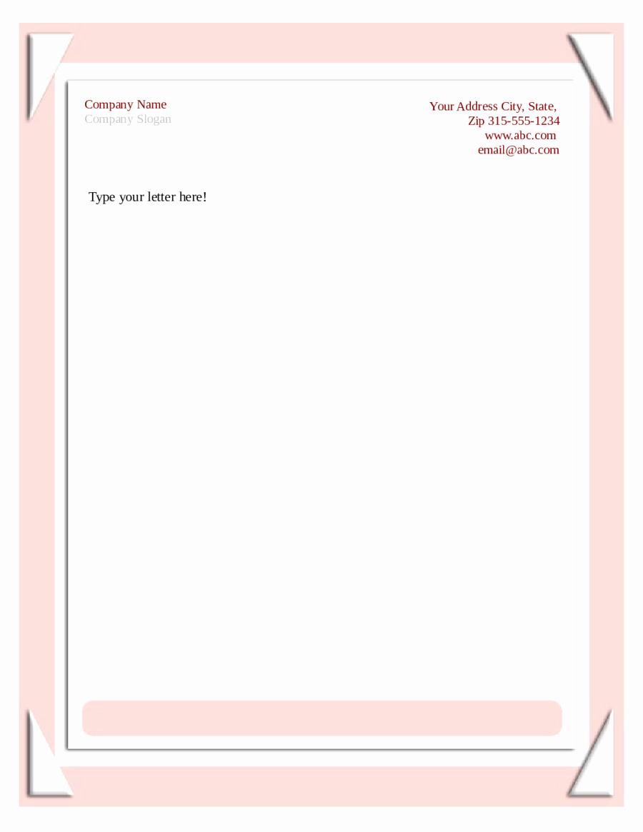 Free Printable Stationery Pdf Unique 2019 Business Letterhead Templates Fillable Printable