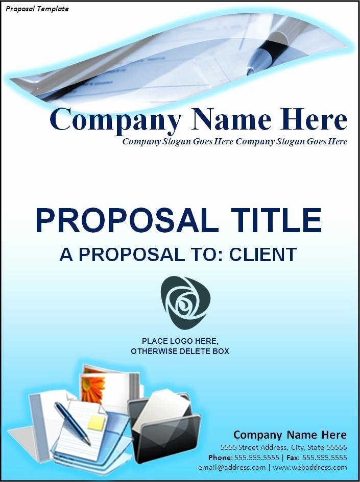 Free Proposal Template Word Luxury 11 Free Proposal Templates