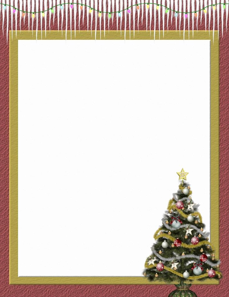 Free Stationery Paper Templates Beautiful 109 Best Christmas Stationery Images On Pinterest