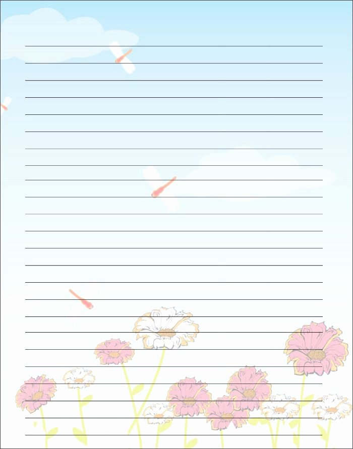 Free Stationery Paper Templates Beautiful Free Printable Kids Mother S Day Writing Paper