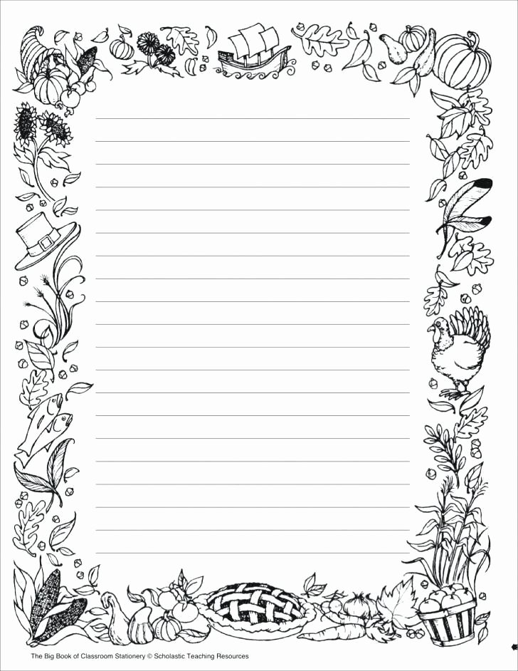 Free Stationery Paper Templates Elegant Free Lined Stationery Templates – Free Printable