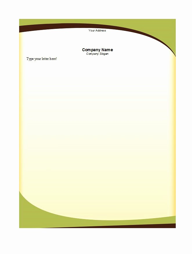 Free Stationery Paper Templates Luxury 46 Free Letterhead Templates & Examples Free Template