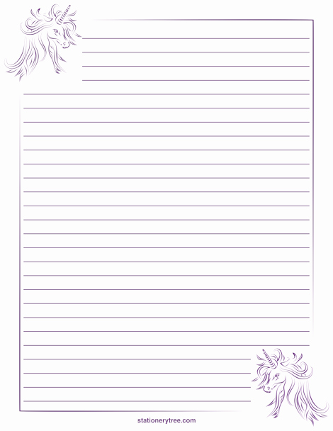 Free Stationery Paper Templates Luxury Lined Stationery Paper Printable Free Download Aashe