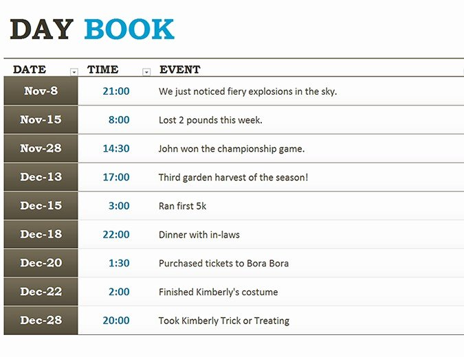 Free Truckers Log Book Template Awesome Generic Logbook