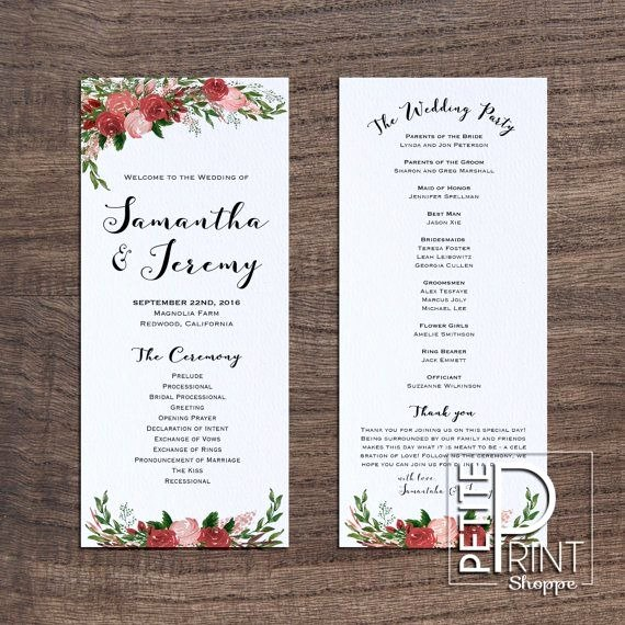 Free Wedding Program Fan Templates Fresh Wedding Program Template