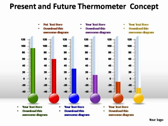 Fundraising thermometer Template Powerpoint Awesome thermometer Powerpoint Template Cpanjfo