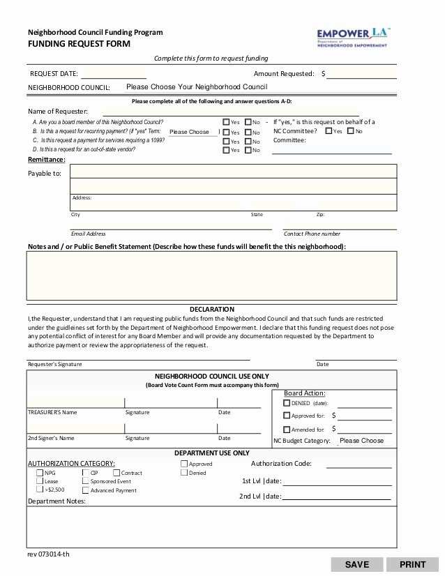 Funds Request form Template Beautiful Funding Request form Fillable