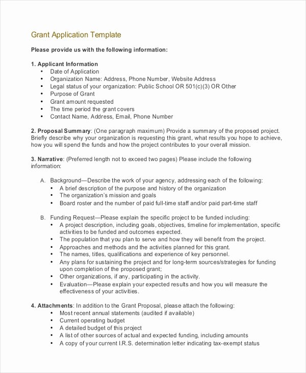 Funds Request form Template Fresh Grant Application Templates 6 Free Word Pdf Download