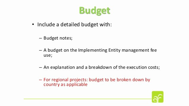Funds Request form Template Inspirational Understanding the Review Criteria and Adaptation Fund