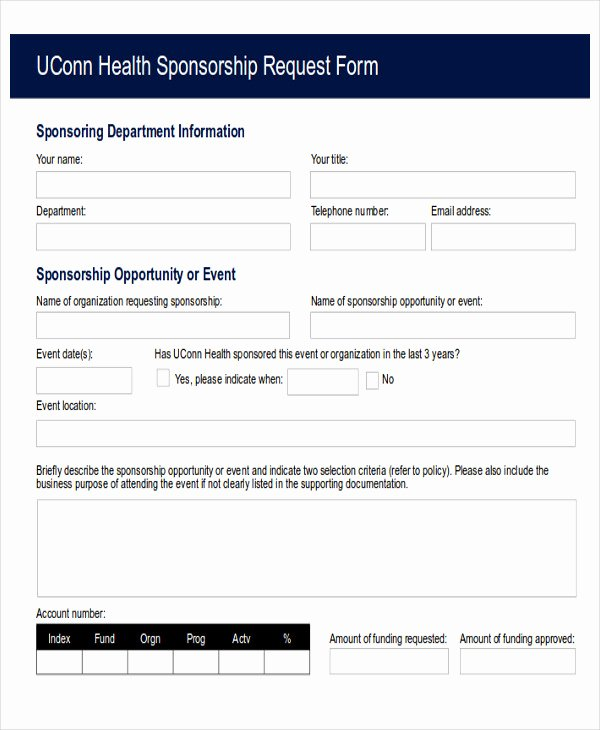Funds Request form Template New Sample Funding Request form 10 Examples In Word Pdf