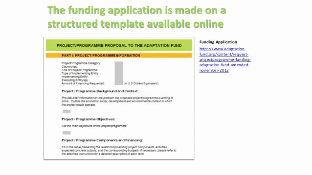 Funds Request form Template New Understanding the Review Criteria and Adaptation Fund