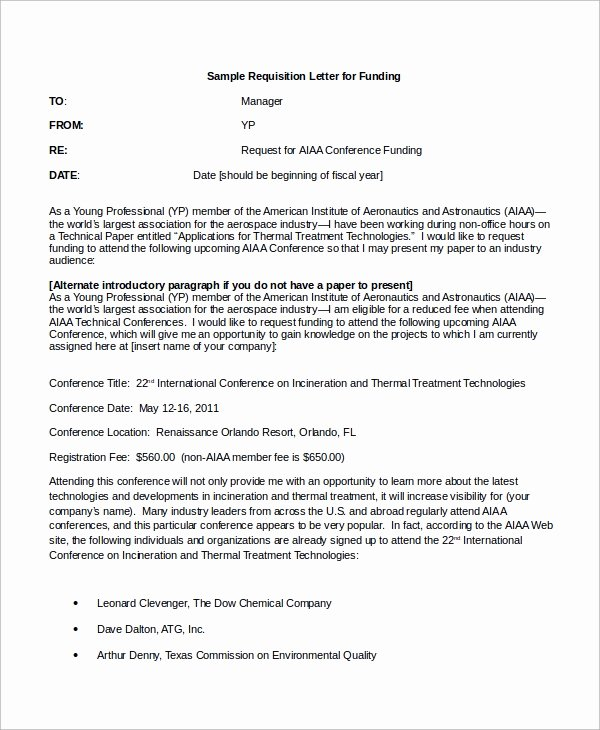 Funds Request form Template Unique Sample Requisition Letter 10 Examples In Word Pdf