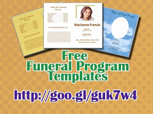 Funeral Program Templates Word Free Unique 79 Best Funeral Program Templates for Ms Word to Download