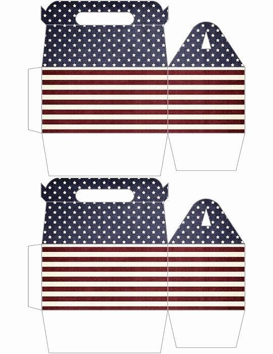 Gable Box Template Awesome All American Gable Box Printable