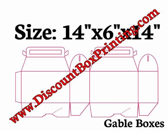 Gable Box Template Elegant Gable Boxes View Templates