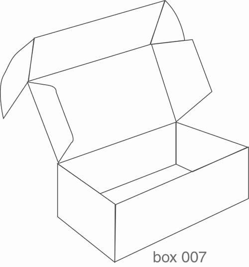 Gable Box Template Fresh Gallery for Box Packaging Design Templates