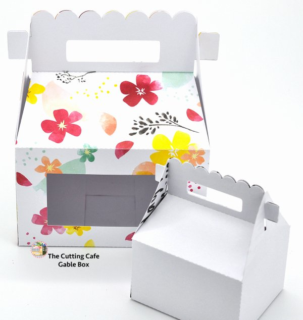 Gable Box Template New the Cutting Cafe Gable Box Template and Cutting File