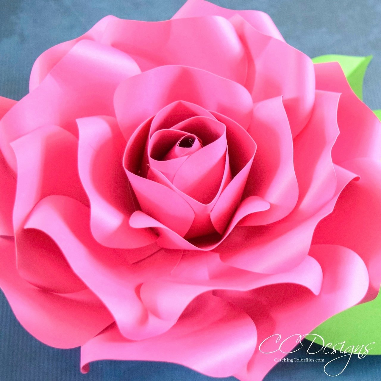 Giant Rose Template Beautiful Alora Garden Giant Paper Rose Template & Tutorial