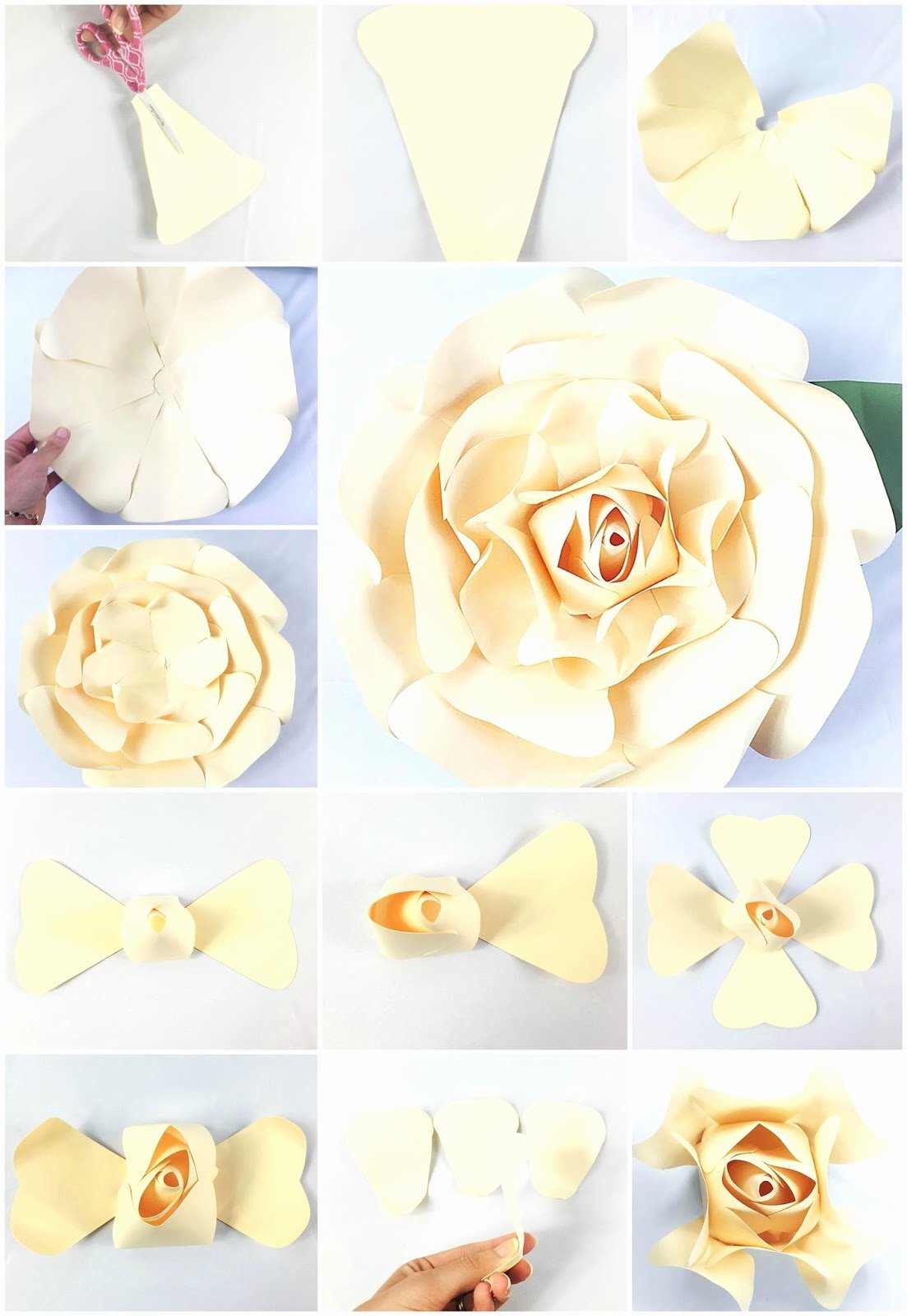 Giant Rose Template Fresh Mama S Gone Crafty Giant Paper Rose Tutorial Majesty