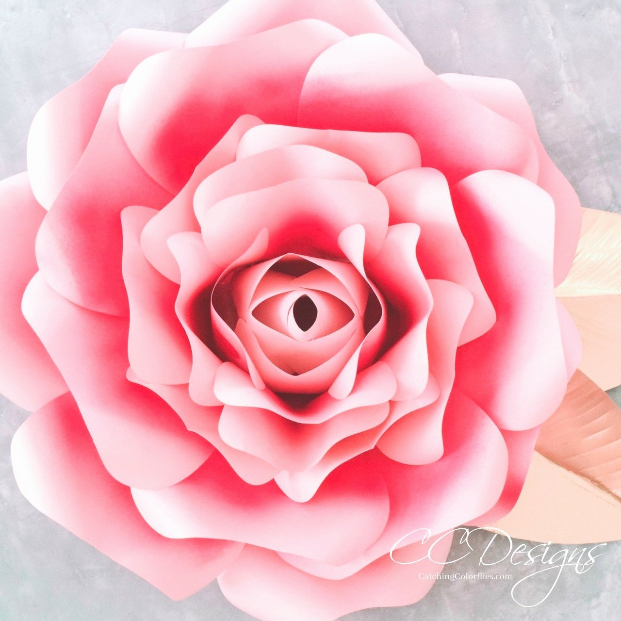 Giant Rose Template New Alora Garden Giant Paper Rose Template & Tutorial